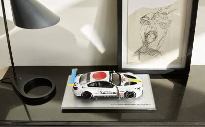 BMW M6 GTLM ART CAR John Baldessari 1:18